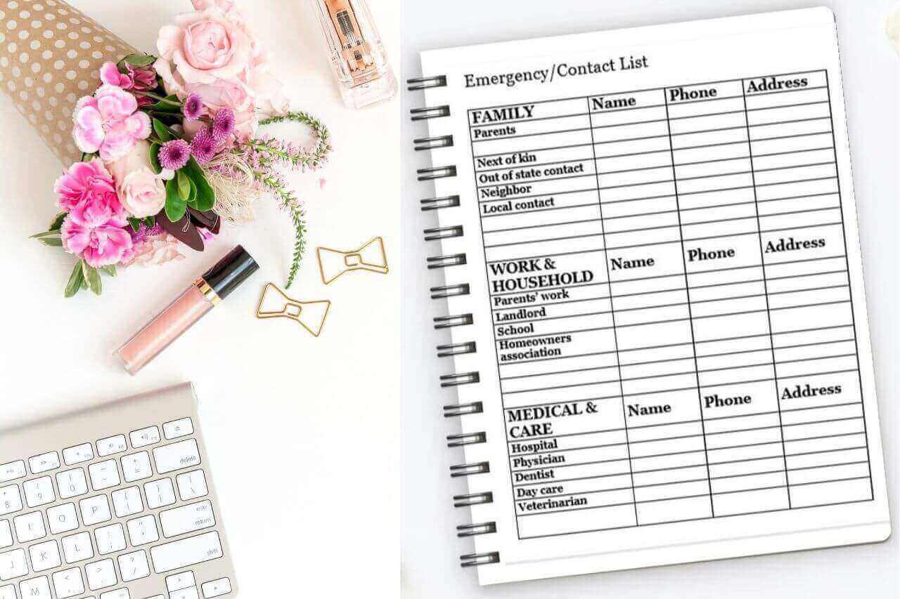 Spark of Hope Address Book Planner