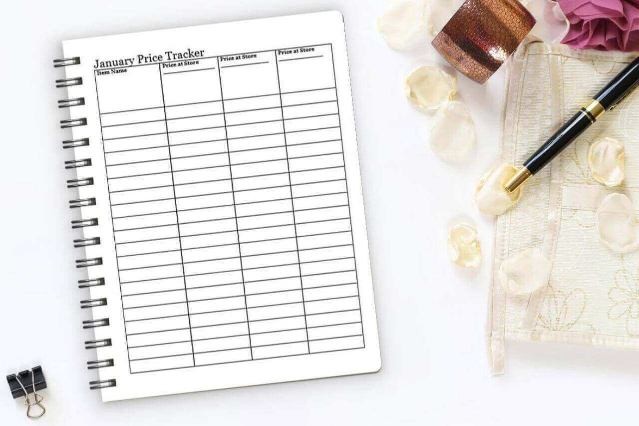Spending Focus Planner