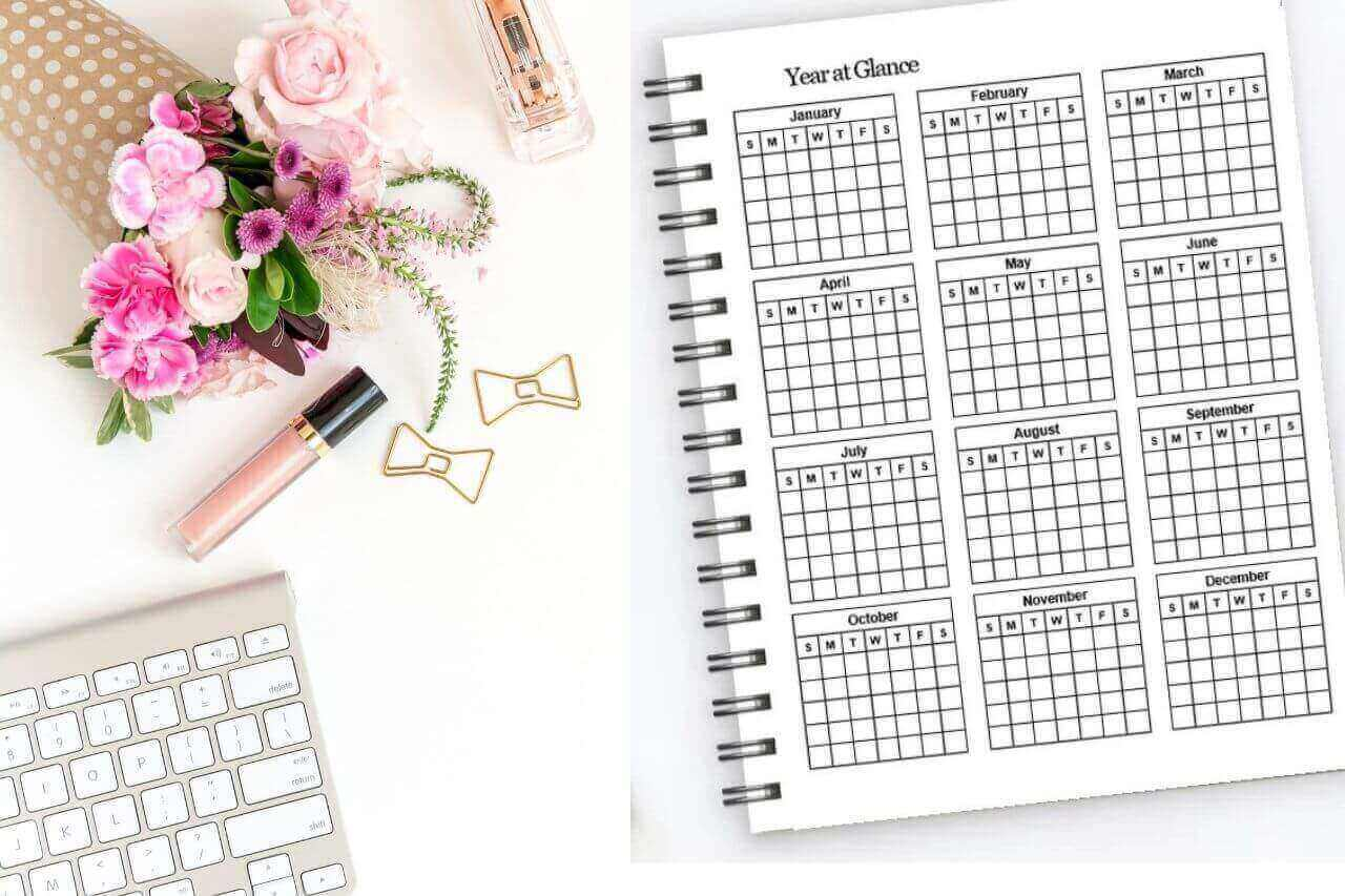 Year at Glance Planner